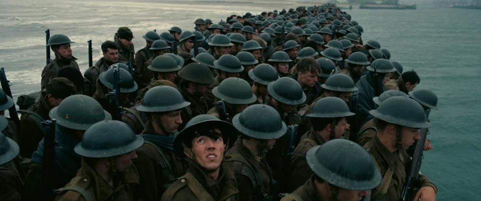 "A scene from the film ""Dunkirk."""
