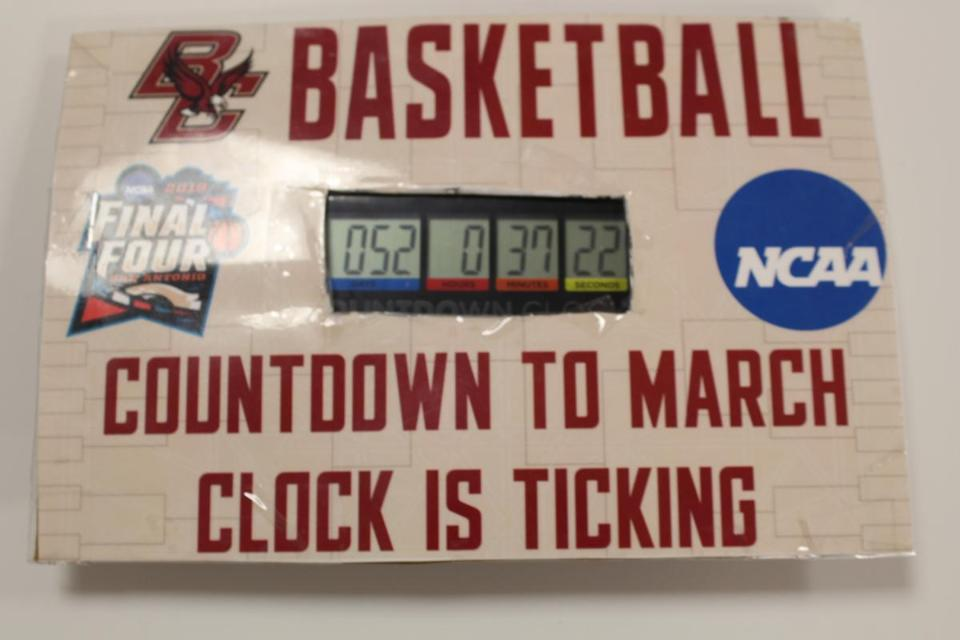 The BC countdown clock