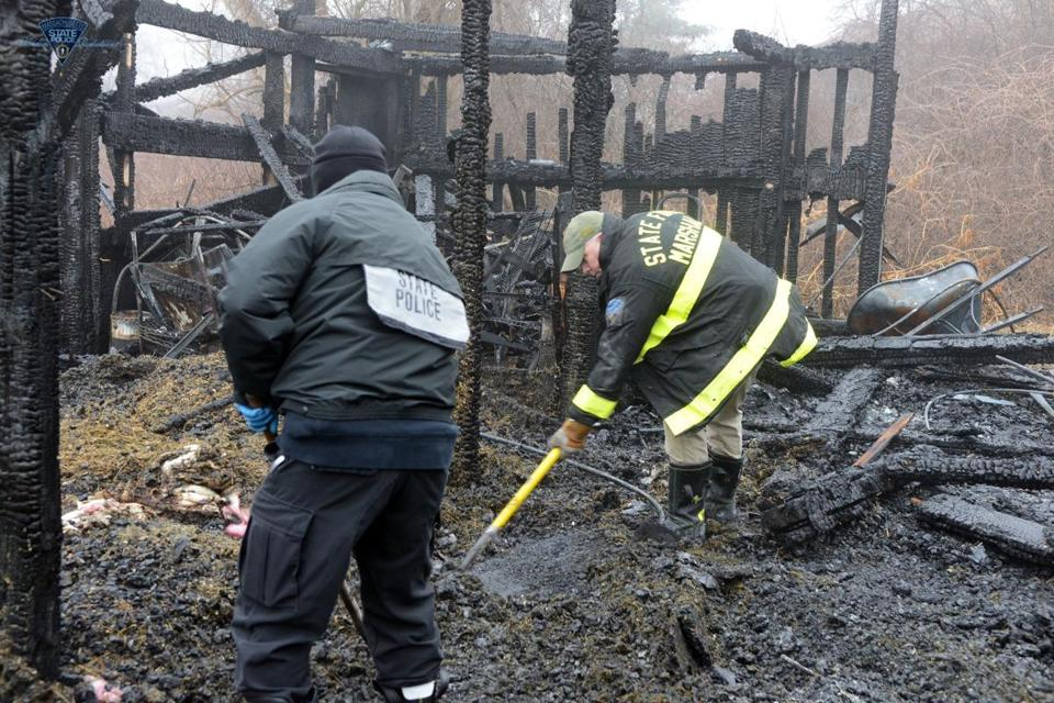 Holliston Barn Fire That Left 40 Animals Dead Is Accidental May Be Linked To Heat Lamp The