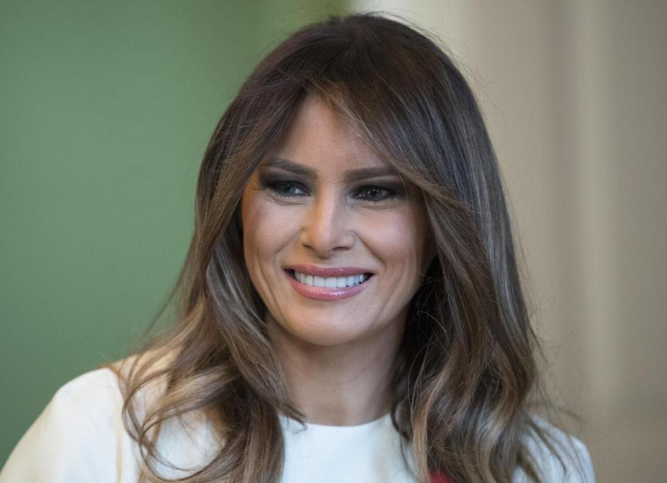 First lady Melania Trump in November.