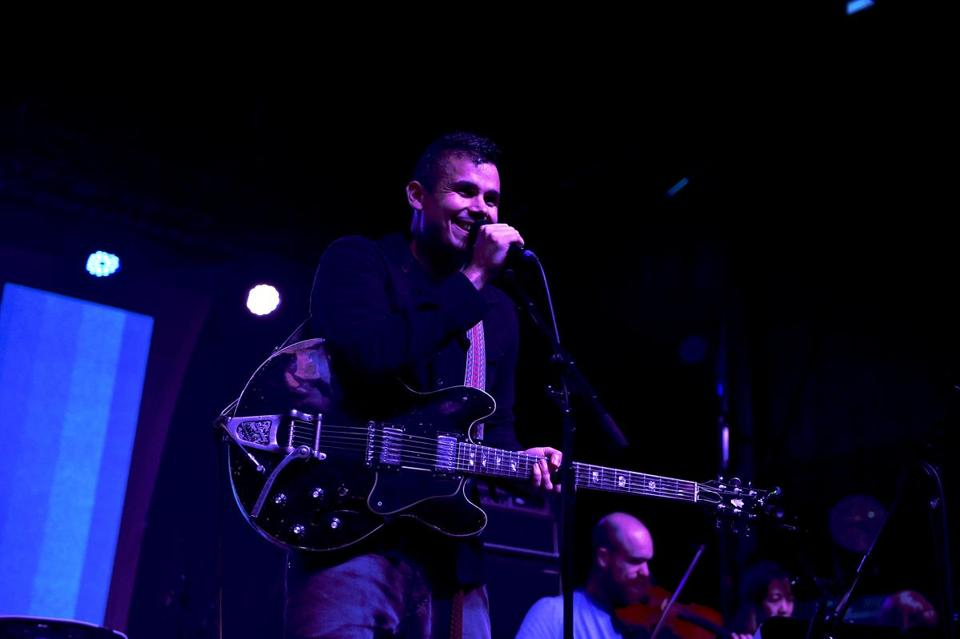 Rostam played a festival in San Pedro, Calif., in October.