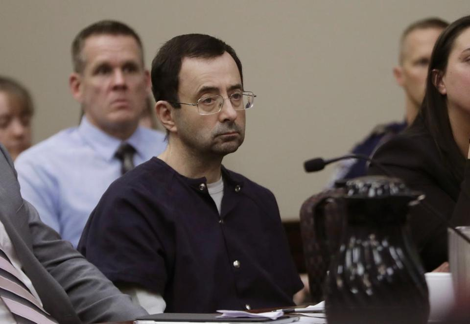Some of the nation's top gymnasts, including Olympians Aly Raisman, McKayla Maroney, Simone Biles, and Jordyn Wieber, said they were among Larry Nassar's victims.