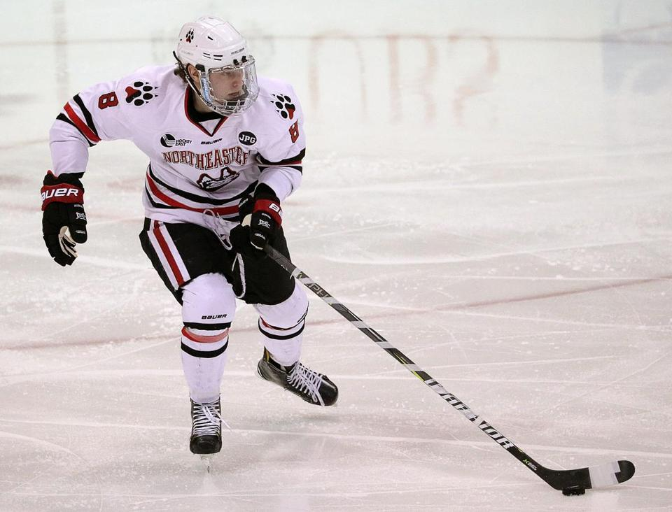 Hockey East: Northeastern's Adam Gaudette, College Hockey's Leading Scorer, Is No Longer Overlooked