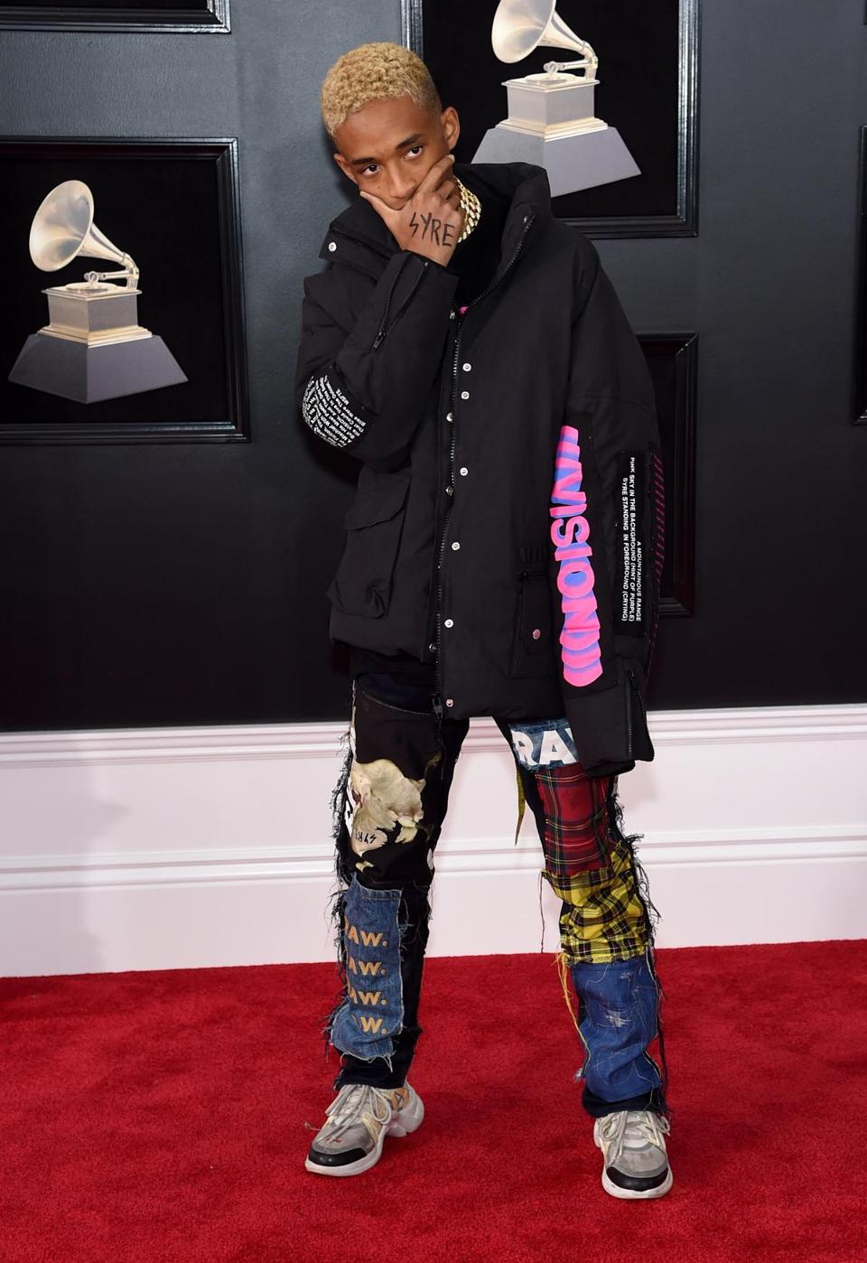 Recording artist-actor Jaden Smith.