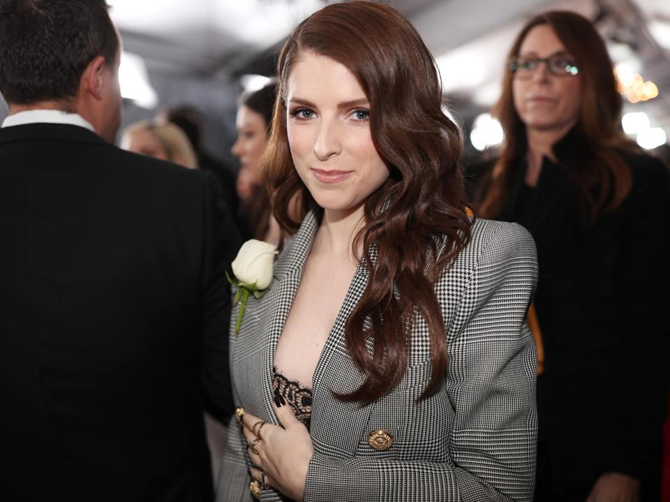 NEW YORK, NY - JANUARY 28: Actor Anna Kendrick attends the 60th Annual GRAMMY Awards at Madison Square Garden on January 28, 2018 in New York City. (Photo by Christopher Polk/Getty Images for NARAS)