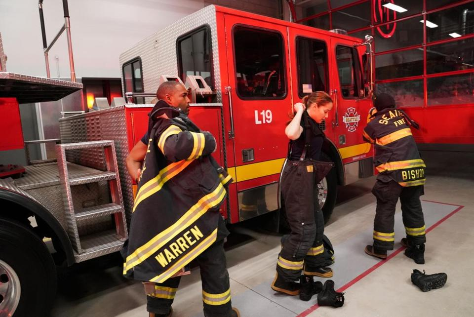 'Grey's Anatomy' fire station spinoff has a name - The ...
