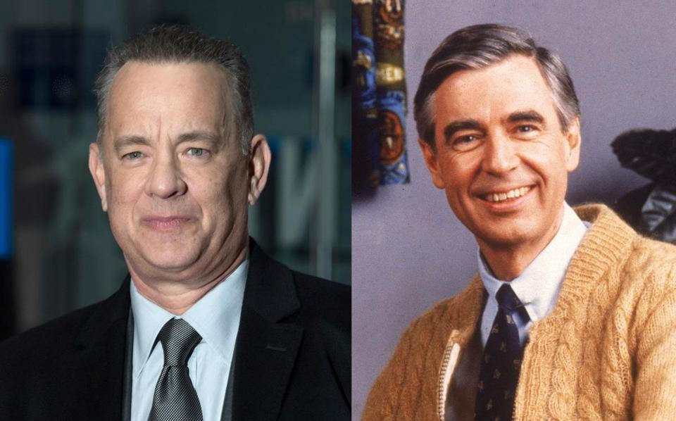 "Tom Hanks is set to play Fred Rogers in ""You Are My Friend."""