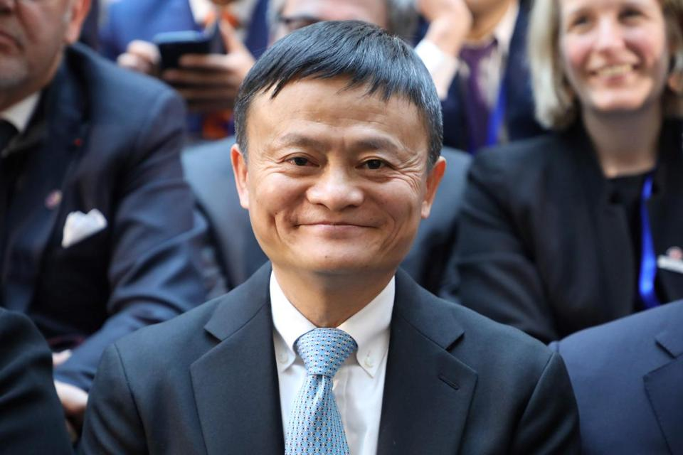 Jack Ma attended the first meeting of the French-Chinese business council in Beijing on Jan. 9.