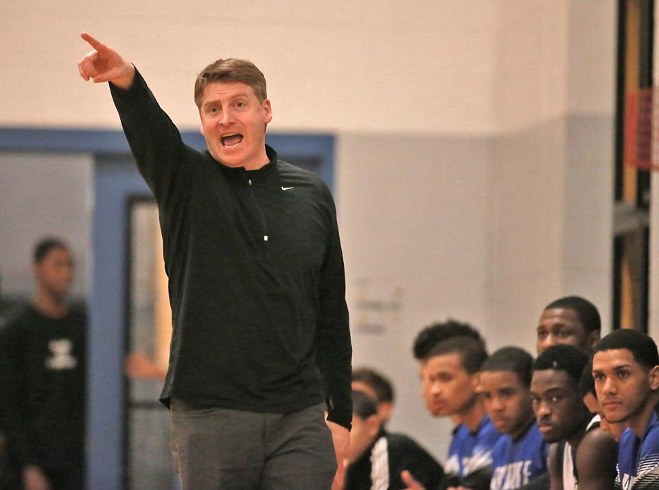 Burke coach Sean Ryan helped guide his team out of its sluggish start.
