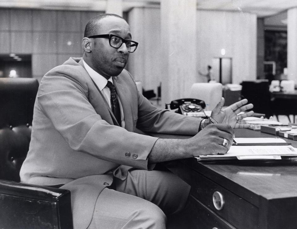 6/18/1968: Donald E. Sneed Jr. first president of Unity Bank & Trust in Roxbury, the city's first black-run bank.