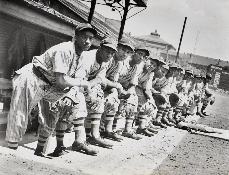 Photograph of Negro League Baseball Team, The Cubans, part of a collection being auctioned by Boston-based Skinner Auctioneers.