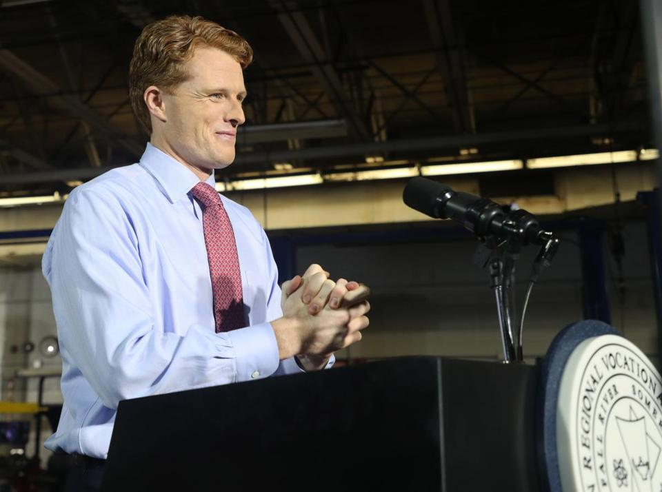 Representative Joe Kennedy sealed his place on the presidential speculation list after delivering the official Democratic response to the State of the Union address.