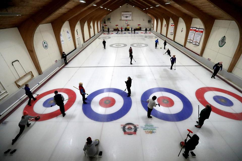Broomstones Curling Club in Wayland.