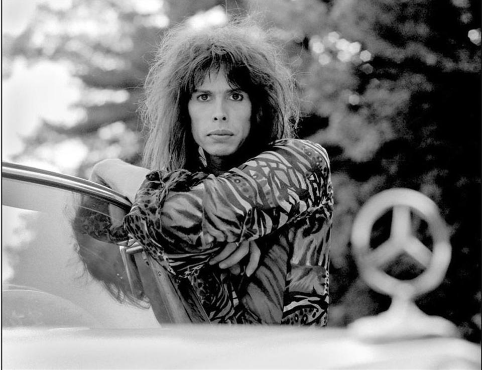 RON POWNALL/FILE Steven Tyler in Jamaica Plain in 1975.