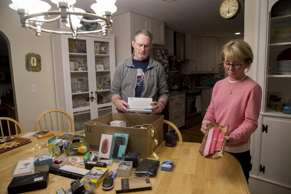This Acton Couple Keeps Getting Mystery Packages From