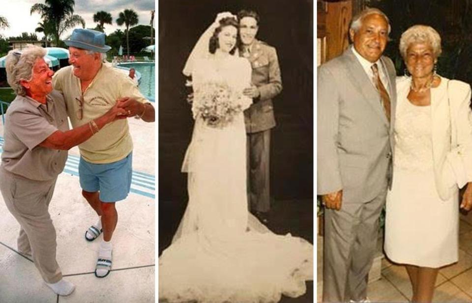 Grace and Tony Barrasso had been married for 70 years.