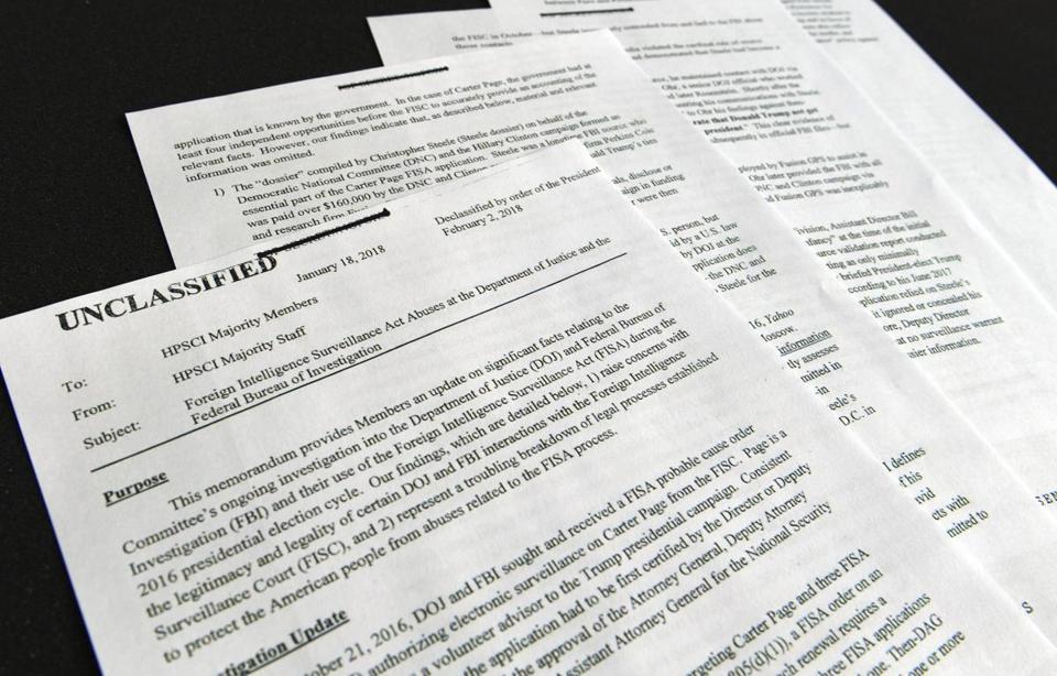 Controversial GOP memo draws mixed response - The Boston Globe