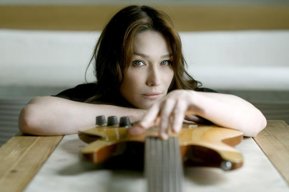 Carla Bruni was a supermodel and later French first lady — while still playing and recording her own music.