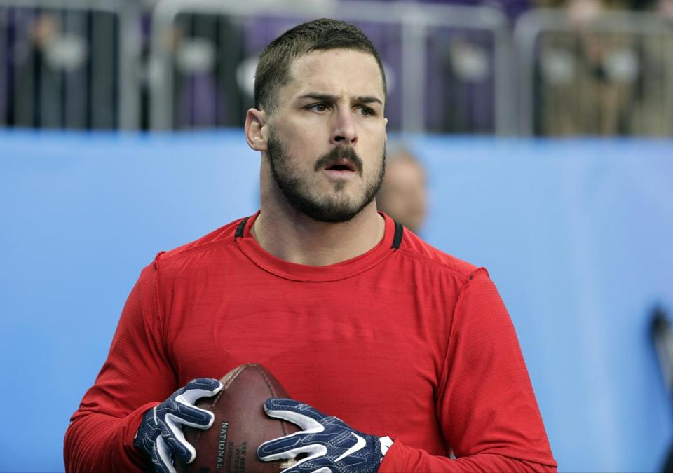 Patriots wide receiver Danny Amendola has 18 catches for 196 and TDs this postseason.