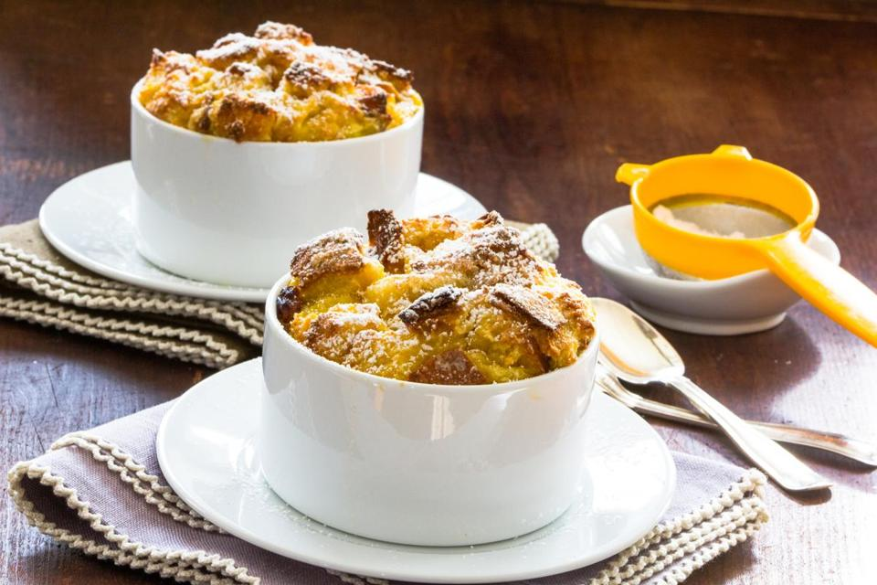 Breakfast bread puddings