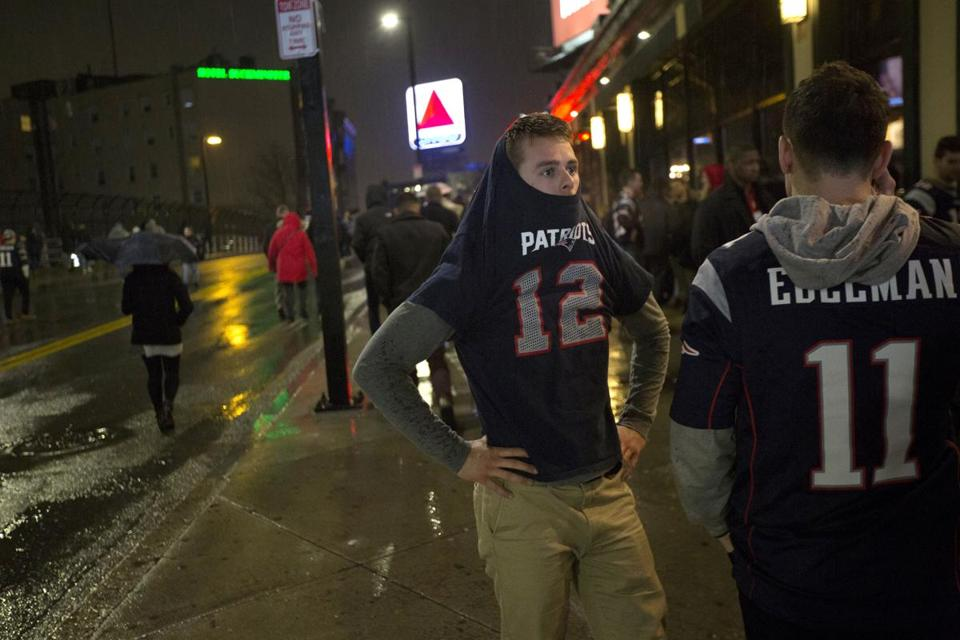 Boston streets mostly devoid of riots or revelries after Patriots  Super  Bowl loss 3298c2203