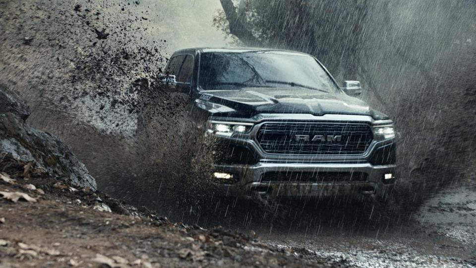"A scene from Ram Trucks' ""Built to Serve"" Super Bowl ad."
