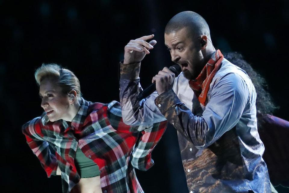 Justin Timberlake performed at his third Super Bowl b2c63f33b