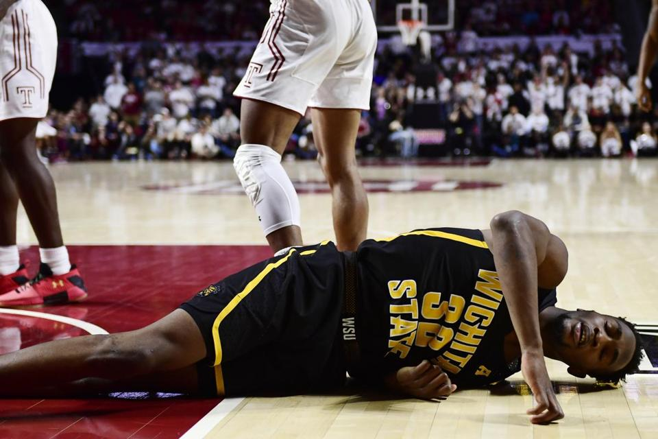 Markis McDuffie and Wichita State need to get up off the mat after losing three of their last five games.