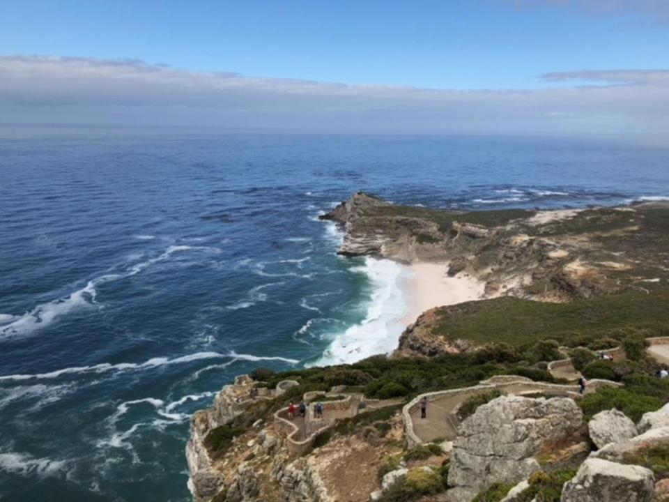 Cape Point, where the Atlantic and Indian oceans meet.
