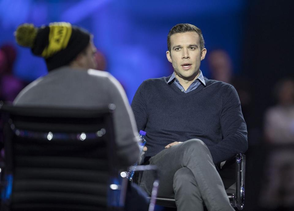 "Jon Favreau is one of the hosts of ""Pod Save America."""