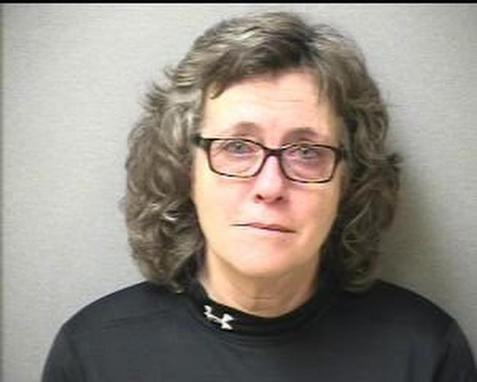 Responding officers found bus driver Debra Cloutier, 57, sitting alone inside the bus eating food, the statement said.