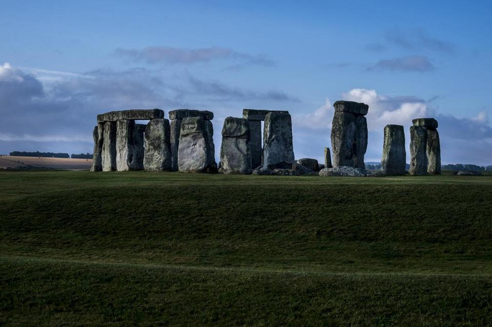 Stonehenge, a prehistoric monument in England, draws hundreds of thousands of visitors each year.
