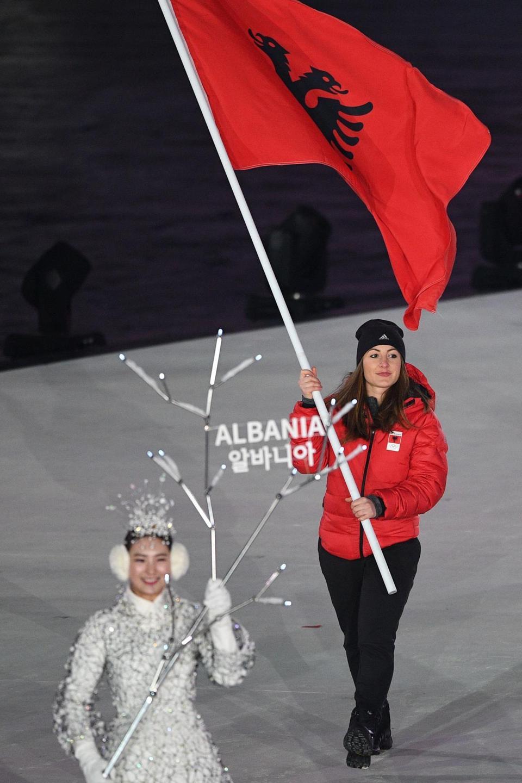 Albania Olympic Flag Bearer