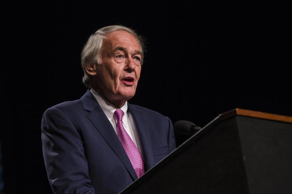"US Senator Edward Markey said President Trump's infrastructure proposal is a ""fraud."""