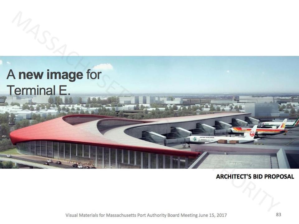 Boston Logan Airport Terminal E Expansion