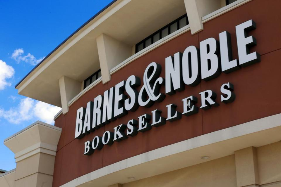 FILE - This Aug. 31, 2017 file photo, shows a Barnes and Noble Booksellers store in Pittsburgh. Barnes & Noble is pointing new staffing rules that will allow stores to increase or decrease the number of people on the clock depending on need. The nation's largest book chain said Tuesday, Feb. 13, 2018, in a filing with the Securities and Exchange Commission that the change will lead to annual cost saving of $40 million. (AP Photo/Gene J. Puskar, File)