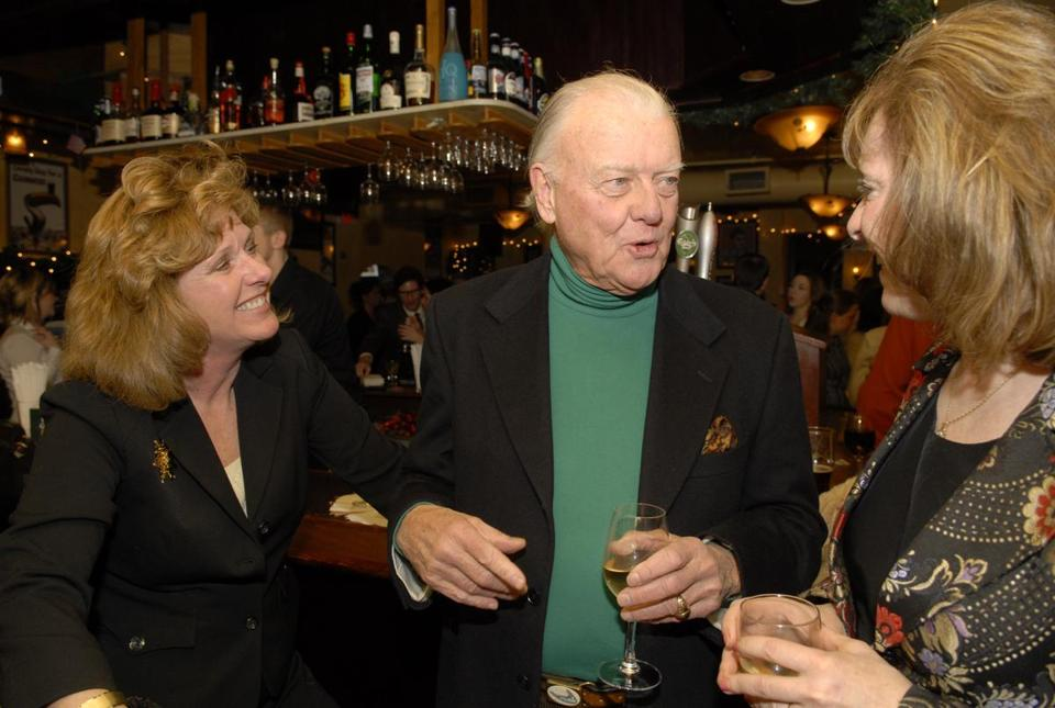 Jack Hynes held court with former Channel 56 colleages in December 2006. Hynes also worked for an extended period at Channel 5.