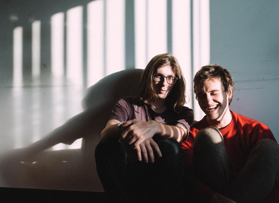 Vundabar drummer Drew McDonald (left) and singer-guitarist Brandon Hagen.