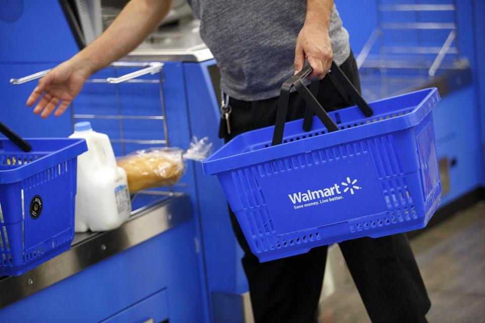 Walmart stock took a beating Tuesday, falling 10.2 percent for its biggest single-day percentage drop in 30 years.