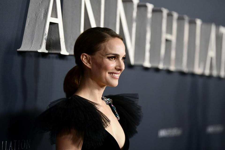 WESTWOOD, CA - FEBRUARY 13: Natalie Portman attends the premiere of Paramount Pictures' 'Annihilation' at Regency Village Theatre on February 13, 2018 in Westwood, California. (Photo by Emma McIntyre/Getty Images)