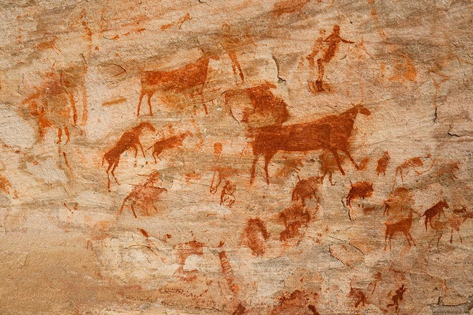The world's best-known cave art exists in France and Spain, but examples of it abound throughout the world.