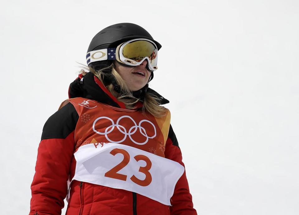 Elizabeth Swaney competed in PyeongChang.