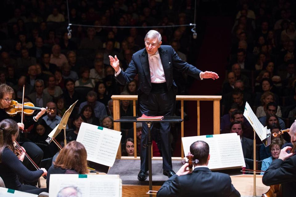 Herbert Blomstedt leads the Boston Symphony Orchestra in an all-Mozart program at Symphony Hall.