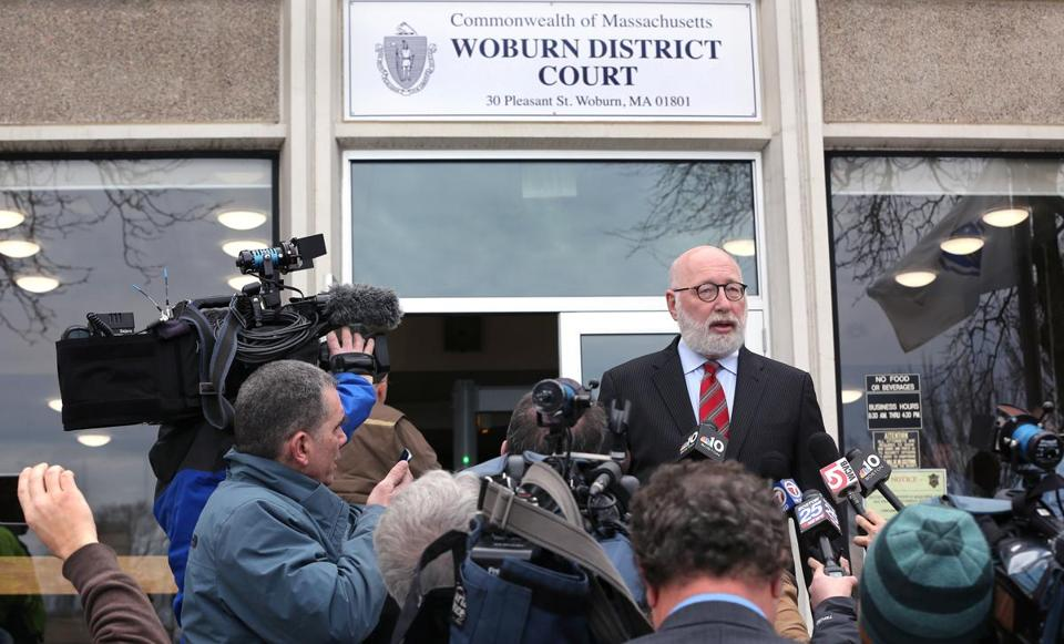 Defense attorney J.W. Carney, Jr. spoke to the media after the arraignment.