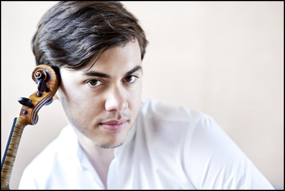 Benjamin Beilman's recital will include the local premiere of a piece by Frederic Rzewski.