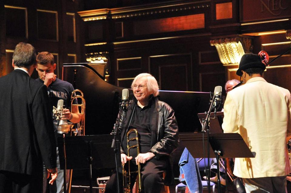 Bob Brookmeyer (above), who played alongside Stan Getz, Gerry Mulligan, and many other jazz legends, taught at New England Conservatory for 10 years before his death in 2011.