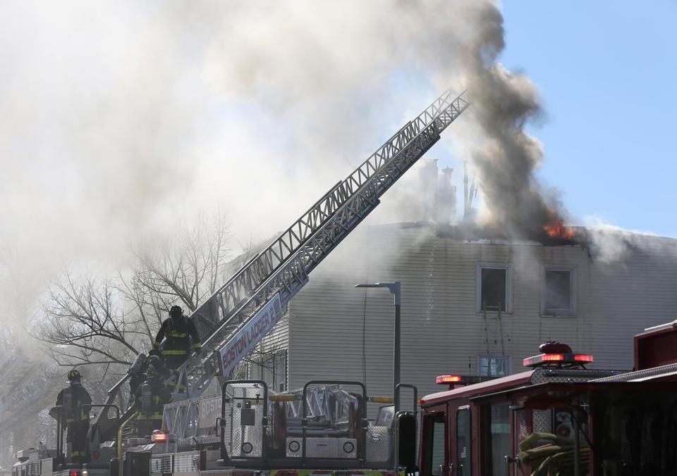 Firefighter Hurt Residents Hospitalized After 4 Alarm Blaze In East Boston