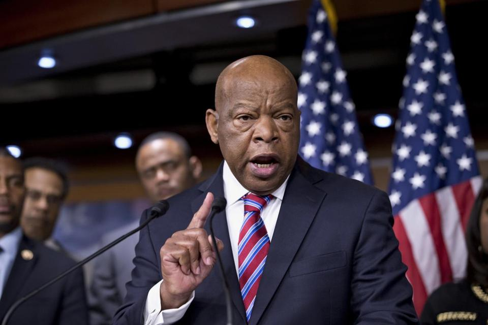 US Representative John Lewis, a Georgia Democrat and civil rights legend, has endorsed Michael E. Capuano.
