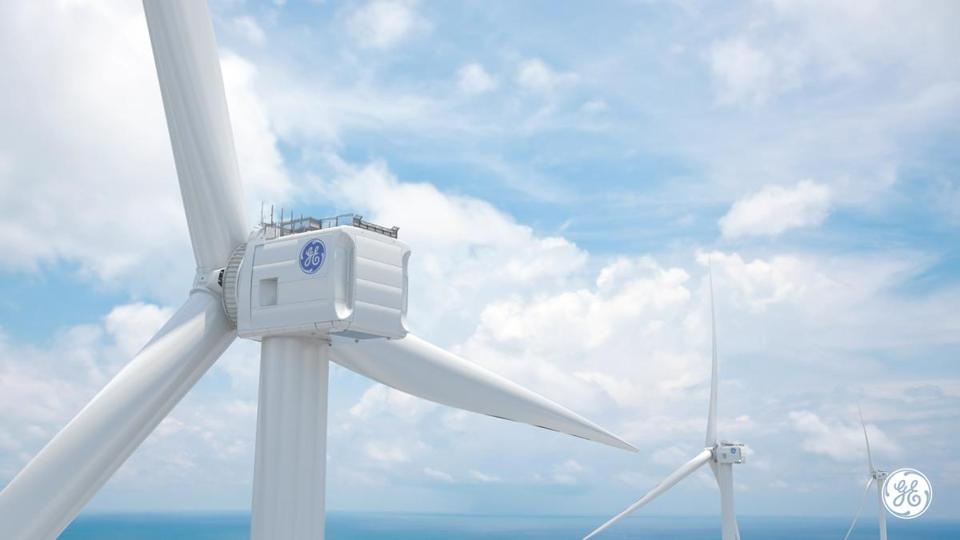 GE says it's developed the world's most powerful offshore wind turbine.