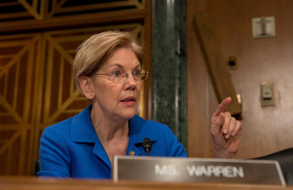 Not one but three main Republican challengers say they can topple Elizabeth Warren.